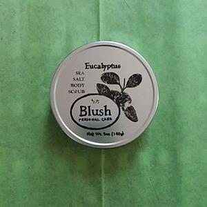 🔥 SALE 🔥 Blush Eucalyptus sea salt body scrub